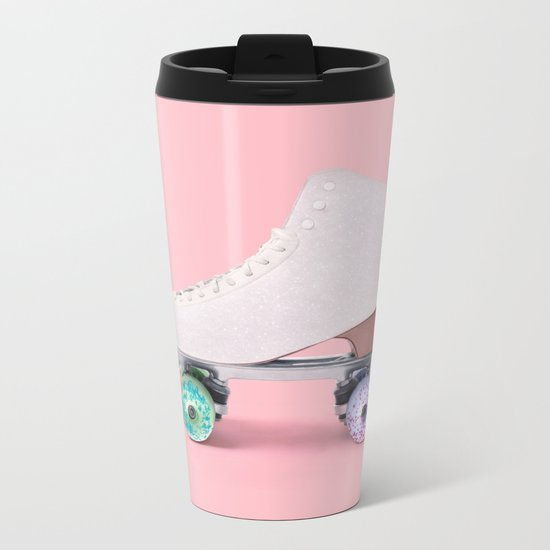 ROLLER DONUT Metal Travel Mug