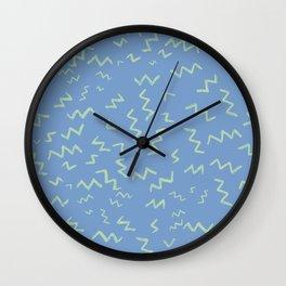 Zig and Zag Wall Clock