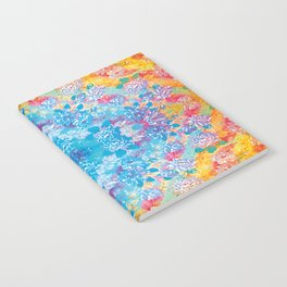 Psychedelic Flower Notebook
