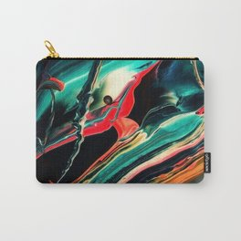 ABSTRACT COLORFUL PAINTING II-A Carry-All Pouch