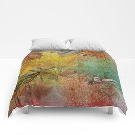 Midsummer in the Garden Comforters
