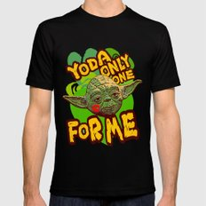 Yoda Only One For Me! Mens Fitted Tee LARGE Black
