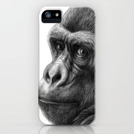 Gorilla G038b schukina iPhone Case