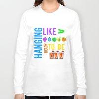lyrics Long Sleeve T-shirts featuring FROOT lyrics by Illuminany
