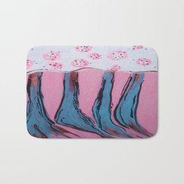 Apron on a Tablecloth. Bath Mat