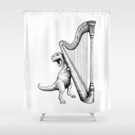 The Struggle Shower Curtain