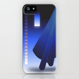 Crepuscular Motions - Composition 12 iPhone Case
