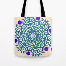 Purple madness Tote Bag