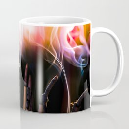 incense sticks crazy smoke Coffee Mug