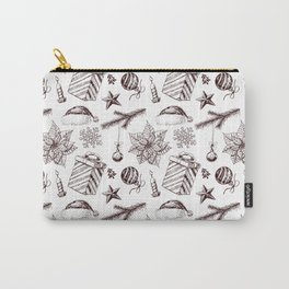 Christmas seamless pattern Carry-All Pouch