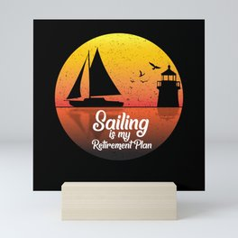 Sailing Captain Sailing Gift Sailing Ship Mini Art Print