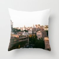 italy Throw Pillows featuring italy by paulina