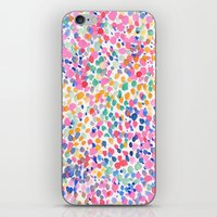 pastel iPhone & iPod Skins featuring Lighthearted (Pastel) by Jacqueline Maldonado