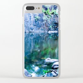 Cedar Creek Falls Clear iPhone Case
