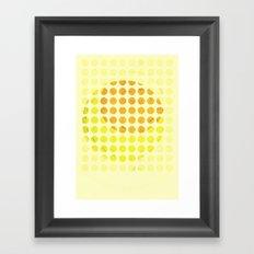sunny side up #1 Framed Art Print