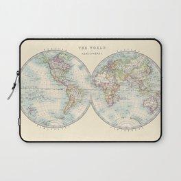 Hemispheres Laptop Sleeve