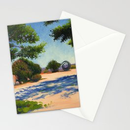 Dancing Shadows Stationery Cards