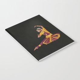 Bharathanatyam Dancer Notebook