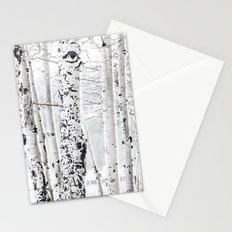 White Tree 2 Stationery Cards