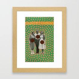 Vacanze Milanesi Framed Art Print