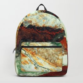 Breaking a stone heart Backpack