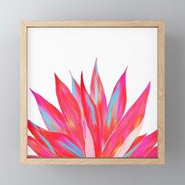 Sunny Agave Fringe Illustration Framed Mini Art Print