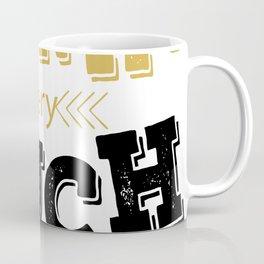 Creative Font Design Coffee Mug