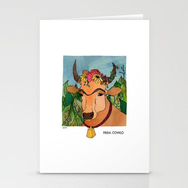 Frida Cowlo Stationery Cards