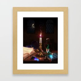 The Knowledge Thief Framed Art Print