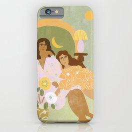 Violet Lamp iPhone Case