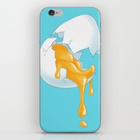 egg iPhone & iPod Skins featuring EGG by naschamsant
