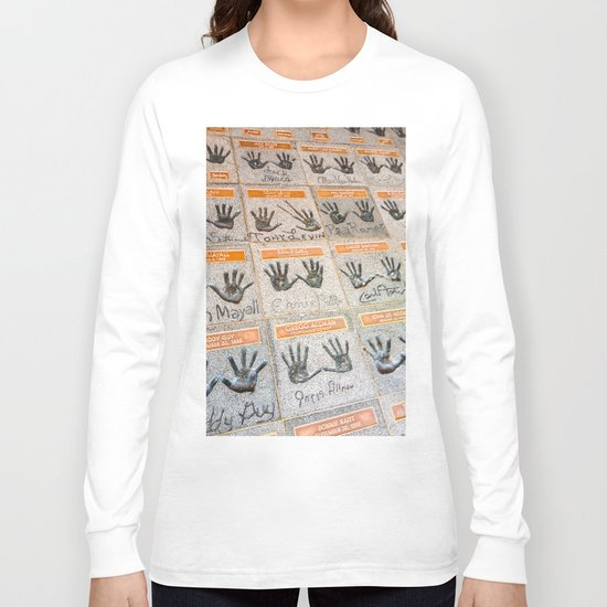 Hollywood hands Long Sleeve T-shirt