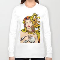 lichtenstein Long Sleeve T-shirts featuring VENUS ARTPOP by Alli Vanes