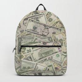 Full of USA Dollars Backpack