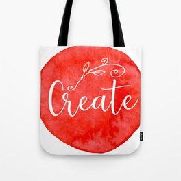 Time to Create Tote Bag