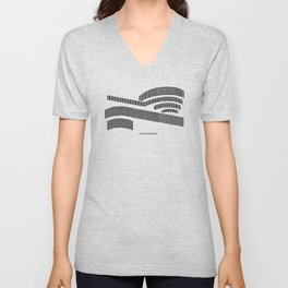 Frank - A is for Architecture Unisex V-Neck