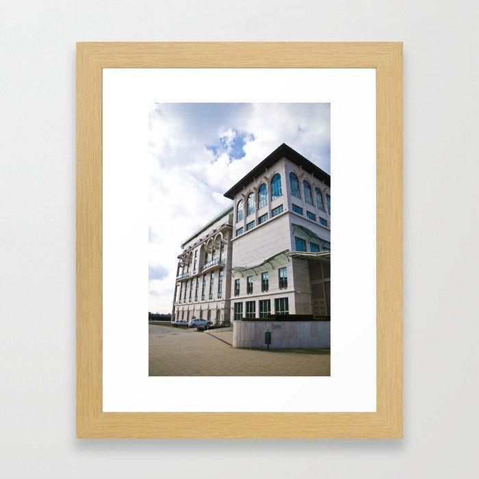 Palace of Arts Framed Art Print