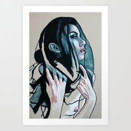 Is This All That I Am? Is There Nothing More? #1 Art Print