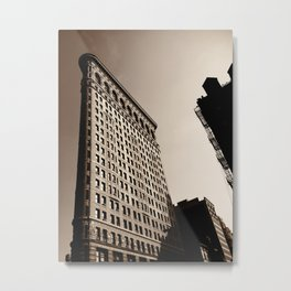 New York City Flatiron Metal Print