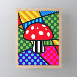 Lucky Fliegenpilz Framed Mini Art Print