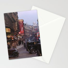 Piccadilly London Kodachrome Stationery Cards