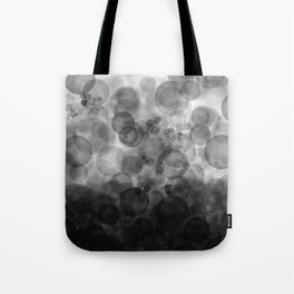 B&W Spotted1 - Reverse Tote Bag