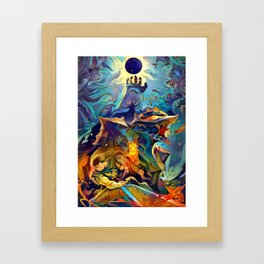 Berserk Framed Art Print