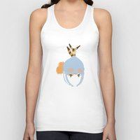 1984 Tank Tops featuring Nausicaä, 1984 by Jarvis Glasses