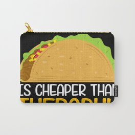 Taco Nachos Vegetable Chip Therapy Carry-All Pouch