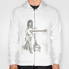 Now If Only I Could Play Guitar (sketch) Hoody