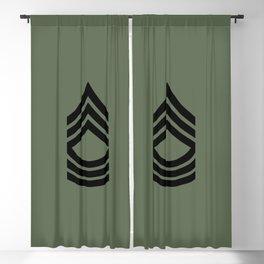 Master Sergeant (Green) Blackout Curtain