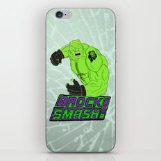 Brock Smash! iPhone & iPod Skin
