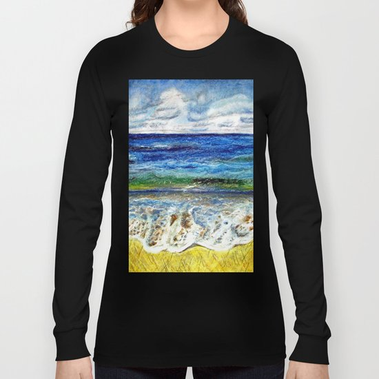 CRAYON LOVE - La mer Long Sleeve T-shirt
