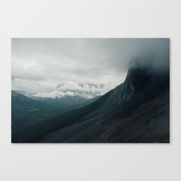 Windtower Mountain in Cloud.  Canvas Print